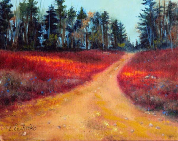 Original Oil Paintings by Laura Tasheiko, Maine Artist