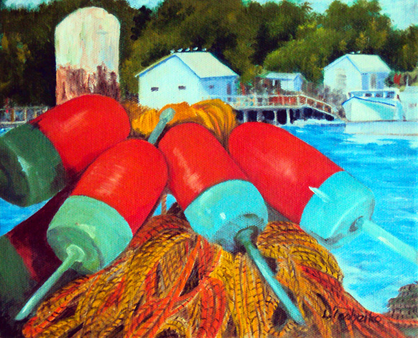 By Laura Tasheiko, Maine Artist