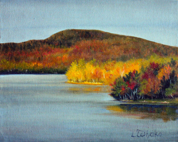 Rangely Lake by Laura Tasheiko, Maine ARtist