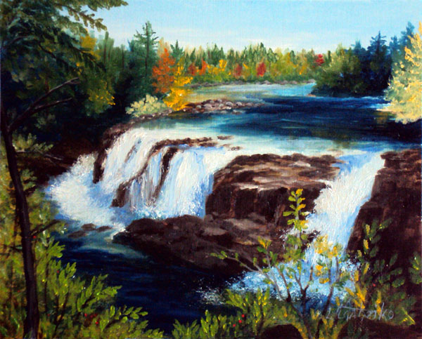 Oil Painting by Laura Tasheiko, Maine Artist